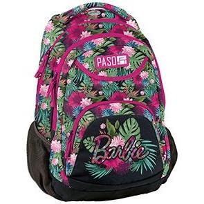 Paso Schulrucksack mit Blumenmuster - Barbie