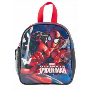 Spiderman Kindergartenrucksack blau mit zwei Fächern