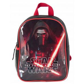 Star Wars Kylo Ren Kindergartenrucksack rot schwarz mit zwei Fächern