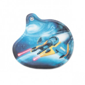 ergobag Blinkie-Klettie (1-tlg.) Weltraumflitzer