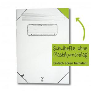 soisi Schulheft A4 Lineatur 2 liniert