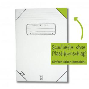 soisi Schulheft A4 Lineatur 27 liniert