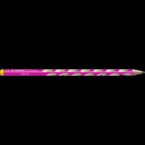 Stabilo Bleistift Easy graph S Härtegrad HB pink für Linkshänder