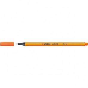 Stabilo Fineliner point 88 Strichstärke 0,4mm orange