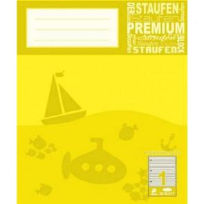 Staufen Arbeits-Block A4 50Bl Lin Premium Anfänger Lin1