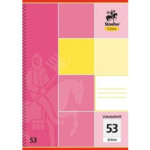 Staufen Linea Vokabelheft DIN A5 32 Blatt