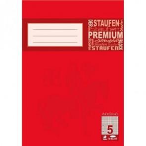 Staufen Premium Schulblock DIN A5 50 Blatt kariert
