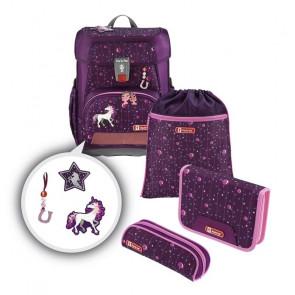 "Step By Step CLOUD Schulranzen-Set ""Dreamy Unicorn"" 5-teilig Motiv Einhorn || Limited Edition || MAGIC MAGS"