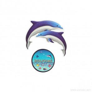 Spirit Sticker Dolphins 2 Stück
