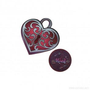 Spirit Sticker Heart 2 Stück