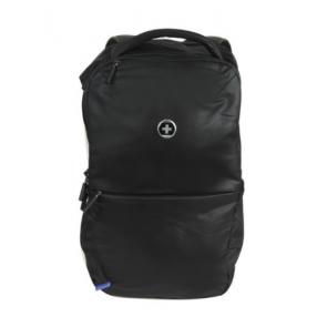 Swissdigital Travel Backpack schwarz