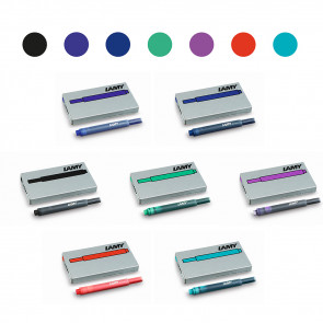 Lamy Tintenpatrone  T10 in verschiedenen Farben