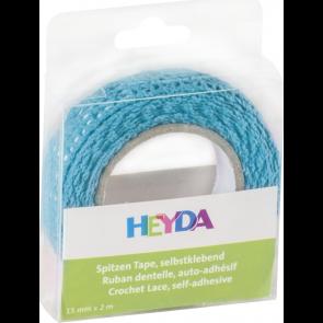 Heyda Spitzen Tape 2 m x 15 mm blau