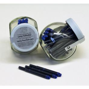 LAMY Tintenpatronen königsblau 25er Glas