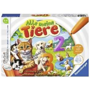tiptoi® Alle meine Tiere Spiel Ravensburger Buchverlag