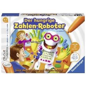 tiptoi® Der hungrige Zahlen-Roboter Mathe Spiel Ravensburger Buchverlag