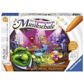 tiptoi® Die monsterstarke Musikschule Spiel Ravensburger Buchverlag