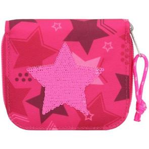 TOPModel Portemonnaie Streichpaillette Stern pink || Depesche 10719