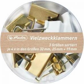 herlitz Vielzweckklammern in 3 versch. Größen Pure Glam 2019