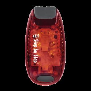Step by Step LED-Sicherheits Klemmleuchte Rot