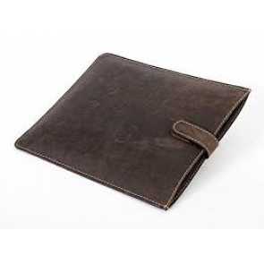 Alpenleder iPad Cover coffee