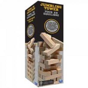 Wackelturm aus Holz 48 Teile