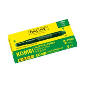 Online Tintenpatrone Kombi sortiert 5 Stück grün