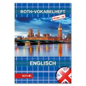 Roth Vokabelheft Englisch, Klapp-up, A5 2 Spalten bunt