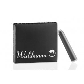 Waldmann Tintenpatronen schwarz