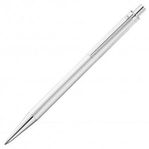 Waldmann Eco Kugelschreiber Silber - Linien Design