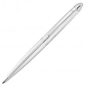 Waldmann Pocket Kugelschreiber Silber - Linien Design