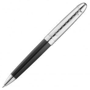 Waldmann Précieux Bleistift Lack schwarz - feiner wellenförmiger Diamantschnitt