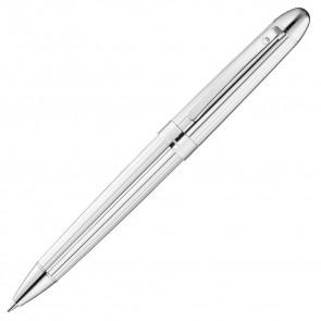 Waldmann Précieux Kugelschreiber Silber - Linien Design