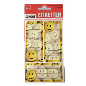 bsb Heftschild-Etiketten Smiley