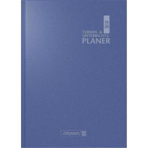 Brunnen Wochenkalender Lehrerkalender blau 2019/2020 Überformat A4: 23 x 29,7 cm