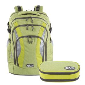 YZEA Frog Bundle (Schulrucksack AIR, Schlampermäppchen BOX)