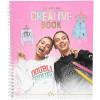 J1MO71 Creative Book Zeichen- und Malbuch 10371 || J1MO71 - Lisa & Lena