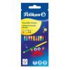 Pelikan Buntstifte Bicolor rund 12 Stück 24 Farben