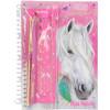 Miss Melody Notizbuch mit Schreibset Pony Pferd 8942