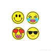 Spirit Sticker Smiley 4 Stück
