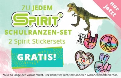 Spirit-Sticker-Aktion